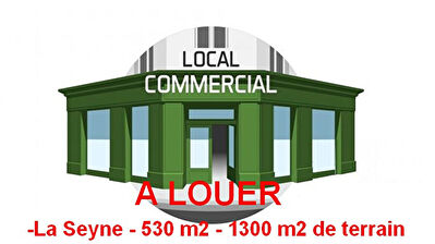Local commercial à louer 530m2